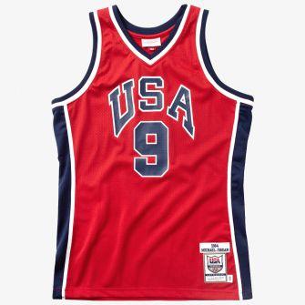 MITCHELL & NESS 1984 USA BASKETBALL AUTHENTIC ALTERNATE JERSEY