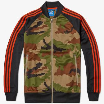 ADIDAS SUPERSTAR CAMO TRACK TOP