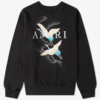AMIRI CRANE CREW SWEAT