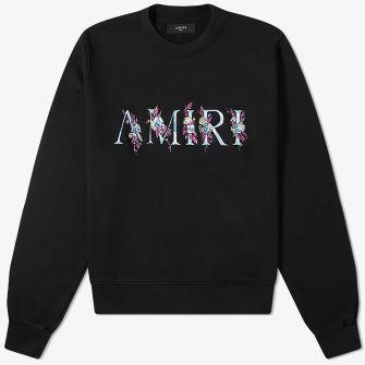 AMIRI FLORAL CREW SWEAT
