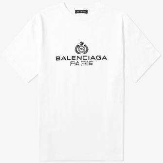 BALENCIAGA PARIS LAUREL TEE