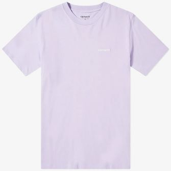 CARHARTT WIP SCRIPT EMBROIDERED TEE