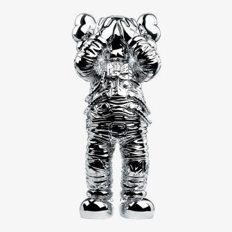 KAWS HOLIDAY SPACE FIGURE SILVER