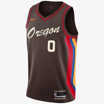 NIKE NBA SWINGMAN JERSEY PORTLAND TRAIL BLAZERS CITY EDITION