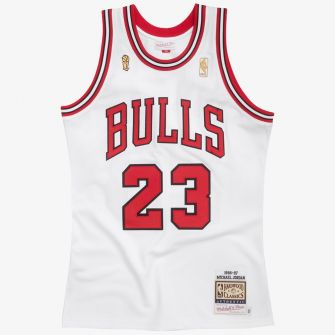 MITCHELL & NESS CHICAGO BULLS AUTHENTIC JERSEY