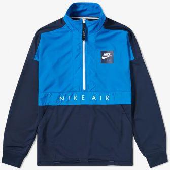 NIKE HERITAGE AIR FLEECE BLUE