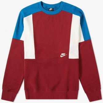 NIKE RE-ISSUE CREW SWEAT RED