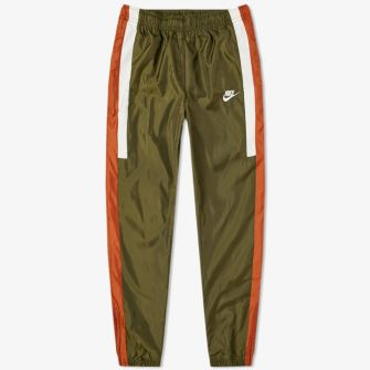 NIKE RE-ISSUE WOVEN PANT GREEN
