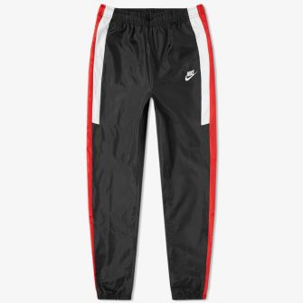 NIKE RE-ISSUE WOVEN SWEAT PANT BLACK