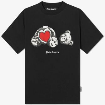 PALM ANGELS BEAR IN LOVE TEE