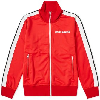 PALM ANGELS TAPED TRACK JACKET