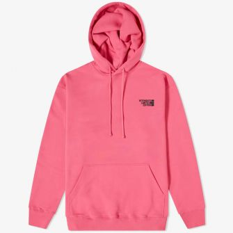 VETEMENTS LOGO LIMITED EDITION HOODY PINK