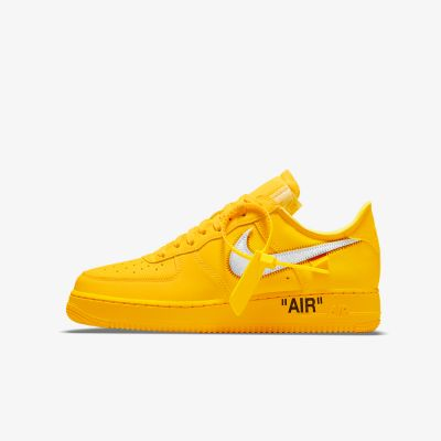 OFF-WHITE X AIR FORCE 1 LOW 'UNIVERSITY GOLD'